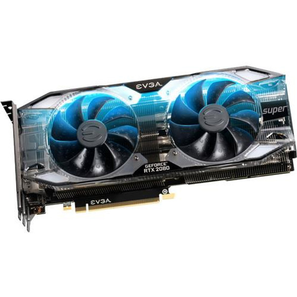 EVGA GeForce RTX 2080 08G-P4-3183-KR Super Graphic Card - 8 GB GDDR6