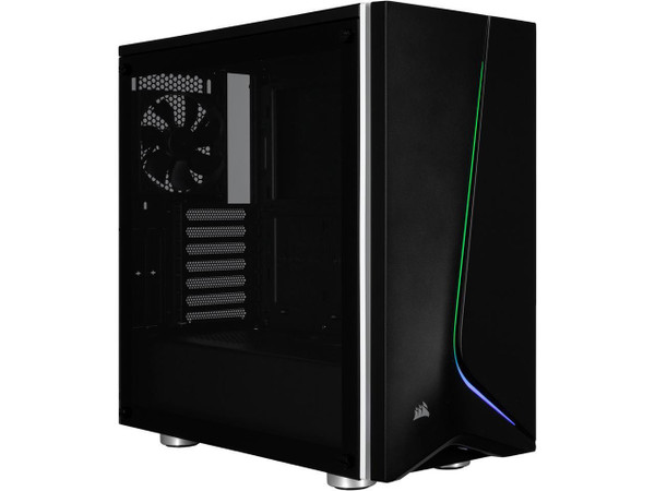 Corsair Carbide SPEC-06 CC-9011146-WW Computer Case with RGB Lighting