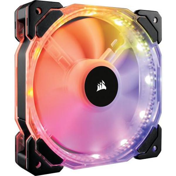 Corsair HD120 RGB LED High CO-9050067-WW Performance 120mm PWM Fan - Three Pack with Controller