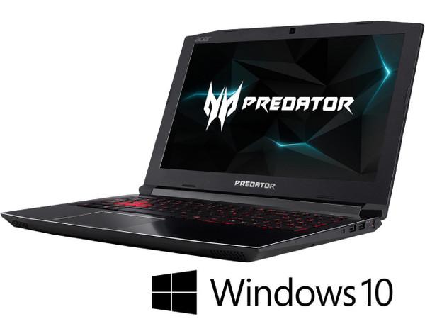 "Acer Predator Helios 300 PH315-51-74V4 NH.Q3FAA.004 15.6"" Gaming Laptop (2.20 GHz Intel Core-i7-8750H, 16 GB DDR4 SDRAM, 1 TB HDD, 256 GB SSD, Windows 10 Home)"