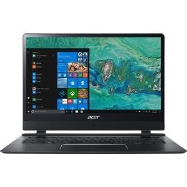 "Acer Swift 7 SF714-51T-M871 NX.GUJAA.001 14"" Touchscreen Laptop (1.30 GHz Intel Core-i7-7Y75, 8 GB DDR4 SDRAM, 256 GB SSD, Windows 10 Pro)"
