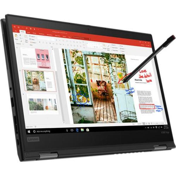 "Lenovo ThinkPad X390 Yoga 20NN0014US 13.3"" Touchscreen 2 in 1 Laptop (1.60 GHz Intel Core-i5-8265U, 8 GB DDR4 SDRAM, 256 GB SSD, Windows 10 Pro)"