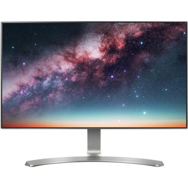 "LG 24MP88HV-S 23.8"" Full HD LED LCD Monitor - 16:9 - Silver, White"