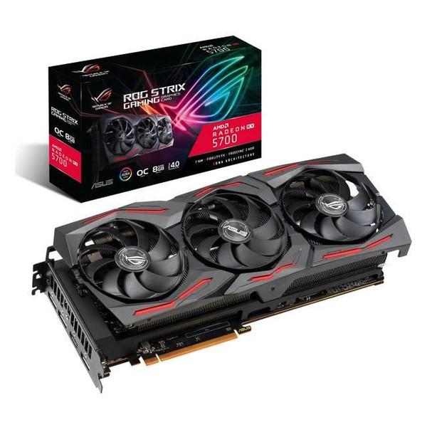 Asus ROG Strix ROG-STRIX-RX5700-O8G-GAMING Radeon RX 5700 Graphic Card - 8 GB GDDR6