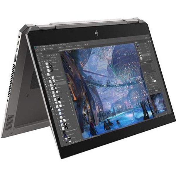 "HP ZBook Studio x360 G5 8XA66UT#ABA 15.6"" Touchscreen 2 in 1 Mobile Workstation Laptop (2.60 GHz Intel Core-i7-9850H, 16 GB DDR4 SDRAM, 512 GB SSD, Windows 10 Pro)"