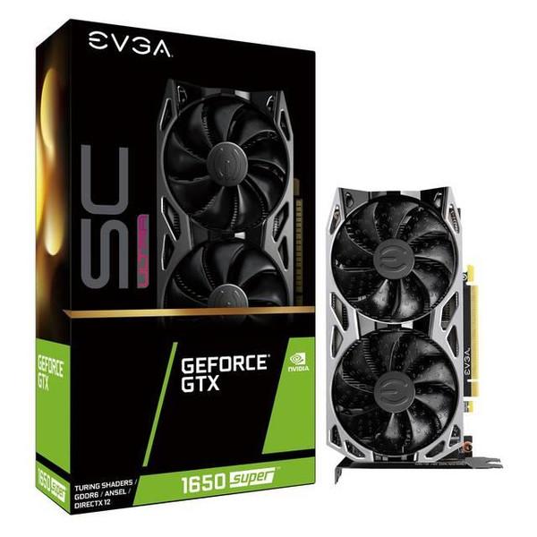 EVGA GeForce GTX 1650 04G-P4-1357-KR SUPER Graphic Card - 4 GB GDDR6
