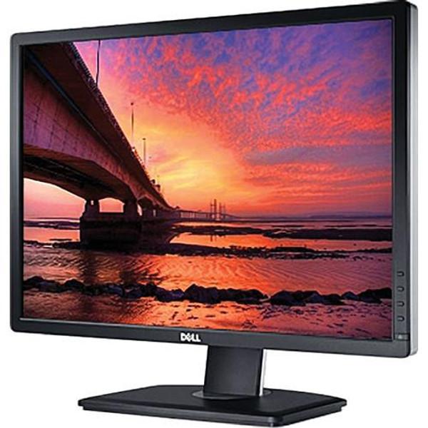 "Dell UltraSharp U2412M 24"" WUXGA LED LCD Monitor - 16:10 - Black"