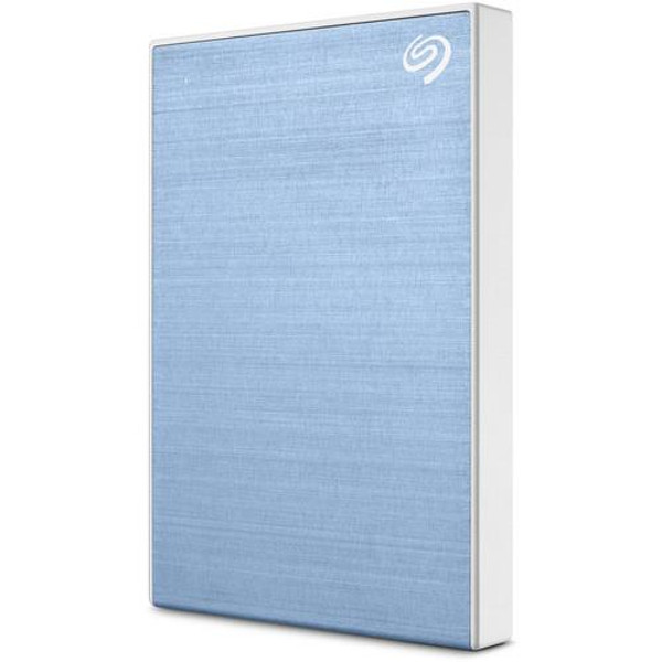 "Seagate Backup Plus STHP4000402 4 TB Portable Hard Drive - 2.5"" External - Light Blue"