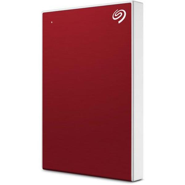 "Seagate Backup Plus Portable STHP5000403 5 TB Hard Drive - 2.5"" External - Red"
