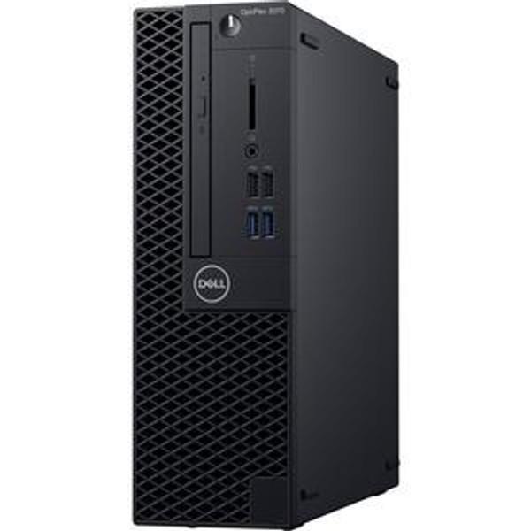 Dell OptiPlex 3000 3070 FCFXD Desktop (3.60 GHz Intel Core-i3-9100, 8 GB DDR4 SDRAM, 128 GB SSD, Windows 10 Pro)