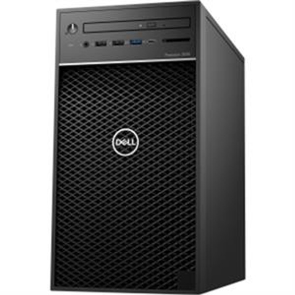 Dell Precision 3000 3630 MDK5D Workstation Desktop (3.60 GHz Intel Core-i7-9700K, 16 GB DDR4 SDRAM, 256 GB SSD, Windows 10 Pro)
