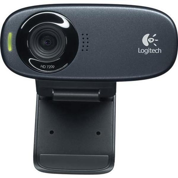 Logitech C310 HD Webcam - Black - USB 2.0