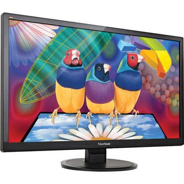 "Viewsonic Value VA2855Smh 28"" Full HD LED LCD Monitor - 16:9 - Black"