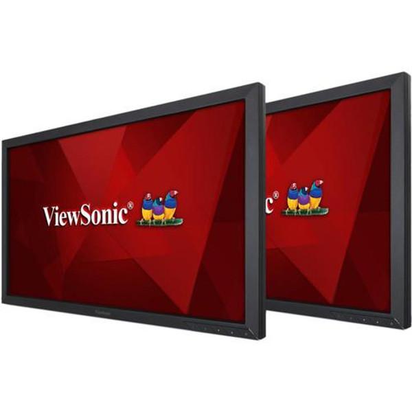 """Viewsonic VG2449_H2 24"""" Full HD LED LCD Monitor - 16:9 - Black - 2 Pack"""