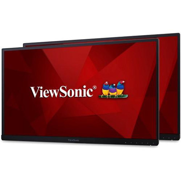 """Viewsonic VG2453_H2 24"""" Full HD LED LCD Monitor - 16:9 - Black - 2 Pack"""