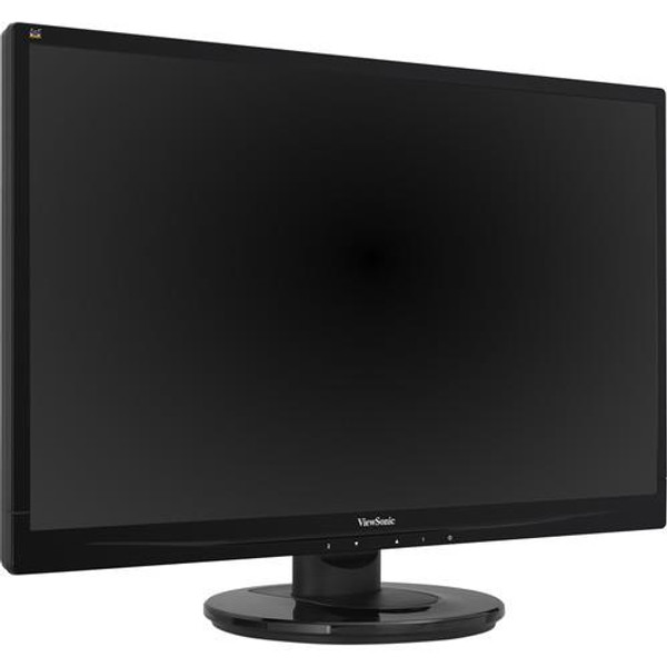 "Viewsonic VA2446MH-LED 24"" Full HD WLED LCD Monitor - 16:9 - Black"