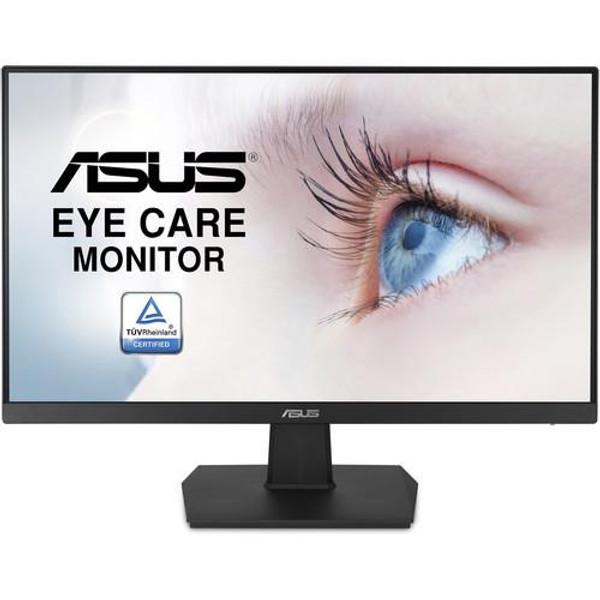 "Asus VA24EHE 23.8"" Full HD LED LCD Monitor - 16:9 - Black"