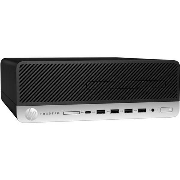 HP Business Desktop ProDesk 600 G5 7PL87UT#ABA Desktop (3 GHz Intel Core-i7-9700, 8 GB DDR4 SDRAM, 256 GB SSD, Windows 10 Pro)