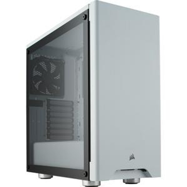 Corsair 275R CC-9011182-WW Airflow Tempered Glass Mid-Tower Gaming Case - White