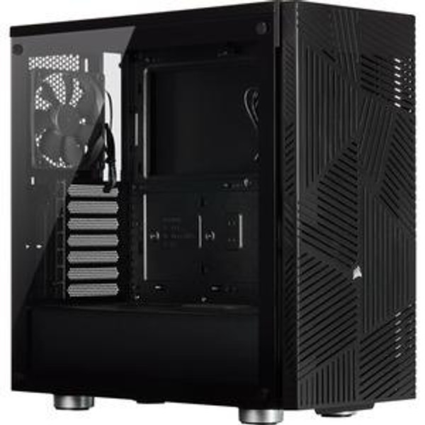 Corsair 275R CC-9011181-WW Airflow Tempered Glass Mid-Tower Gaming Case - Black