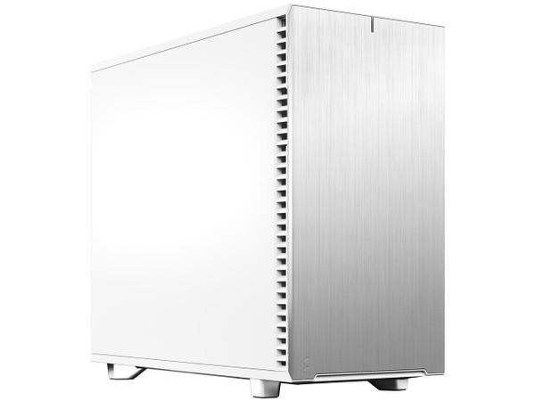 Fractal Design Define 7 FD-C-DEF7A-09 White Solid /Brushed Aluminum/Steel E-ATX Silent Modular Mid Tower Computer Case