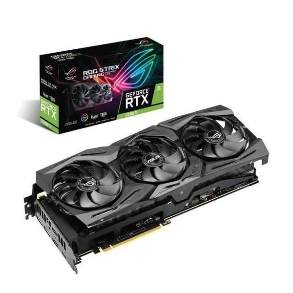 Asus NVIDIA ROG Strix GeForce RTX 2080 TI 11GB GDDR6 2HDMI/2DisplayPort/USB Type-C PCI-Express Video Card