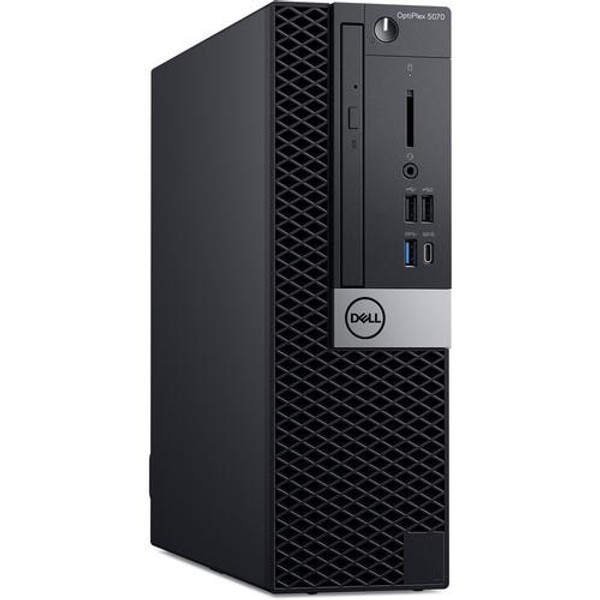 Dell OptiPlex 5000 5070 VCV3K Desktop (3 GHz Intel Core-i7-9700, 8GB DDR4 SDRAM, 500GB HDD, Windows 10 Pro)