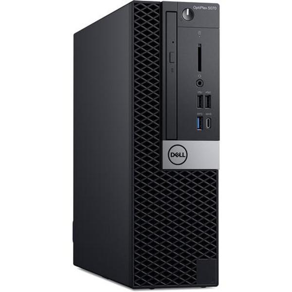 Dell OptiPlex 5000 5070 8756K Desktop (3 GHz Intel Core-i7-9700, 8 GB DDR4 SDRAM, 256 GB SSD, Windows 10 Pro)
