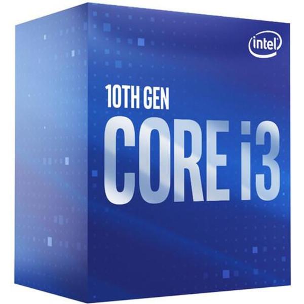 Intel Core i3 (10th Gen) i3-10100 BX8070110100 Quad-core (4 Core) 3.60 GHz Processor - Retail Pack