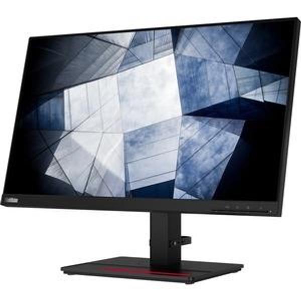 "Lenovo ThinkVision P24q-20 23.8"" 61F5GAR1US WQHD WLED LCD Monitor - 16:9 - Raven Black"