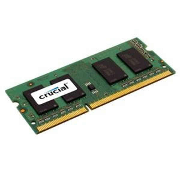 Crucial 4GB, 204-pin SODIMM, DDR3 PC3-12800 Laptop Memory Module (CT51264BF160BJ)