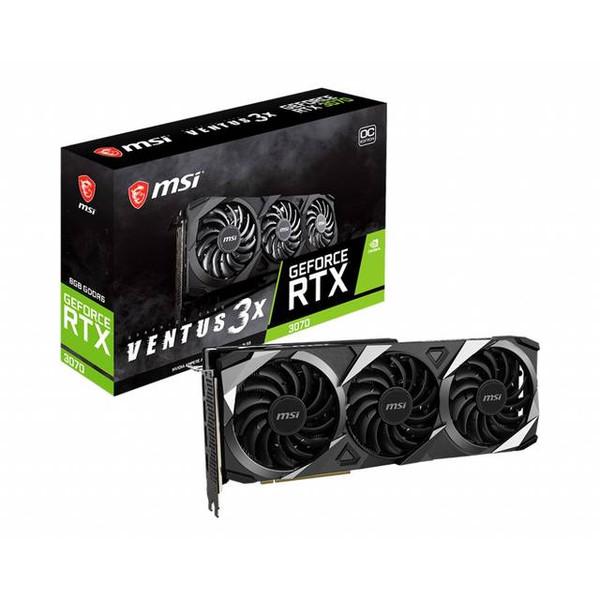 MSI RTX 3070 Ventus 3X OC G3070V3XC Nvidia Graphic Card