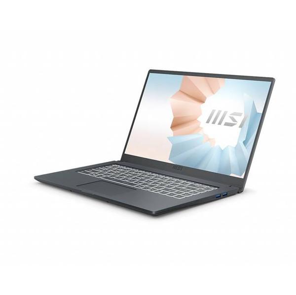 "MSI Modern 15 A11M-221 15.6"" Rugged Laptop (1.20 GHz Intel Core i7-1165G7 (11th Gen), 16 GB DDR4 SDRAM, Iris Xe, 512 GB SSD, Windows 10 Home)"