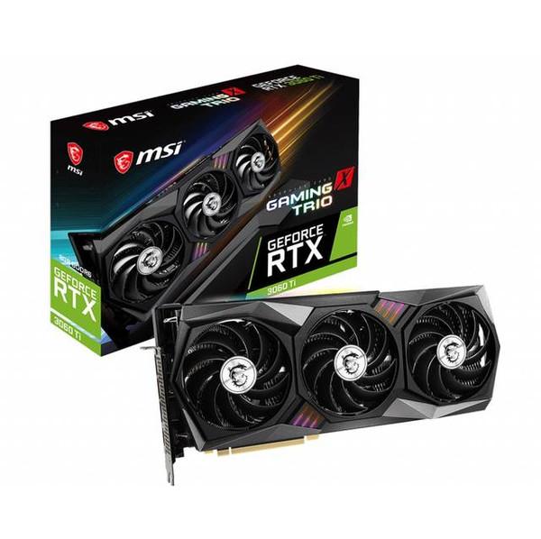 MSI NVIDIA GeForce RTX 3060 TI GAMING X TRIO G306TGXT 8GB GDDR6 HDMI/3DisplayPort PCI-Express 4.0 Video Card