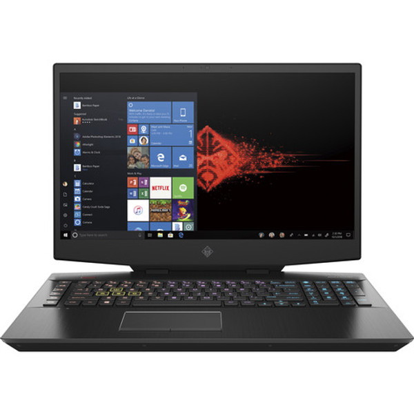 "HP OMEN 17-cb1060nr 17.3"" Gaming Laptop (2.60 GHz Intel Core-i7-10750H (10th Gen) Hexa-core (6 Core), 8 GB DDR4 SDRAM, 512 GB SSD, Windows 10 Home)"