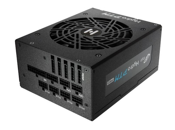 The FSP Hydro PTM PRO series offers high efficiency and longevity to your PC build. Our proprietary conformal coating protects the power supply from dust, humidity, stains, and harsh environments. The Hydro PTM PRO has been designed to reliably operate at a relative humidity of up to 95%. It also features a semi-fanless eco mode that will suspend fan operation until the load has exceeded 30%. This feature can be controlled with the simple flick of a switch located next to the on/off button for easy access. This model also includes fully modular black ribbon cables for DIY enthusiasts looking to create cleaner builds. The FSP Hydro PTM PRO is a top-of-the-line power supply that delivers function, efficiency, and style making it a great addition to any system.