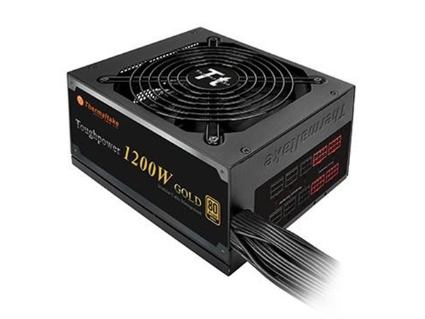 Thermaltake Power Supply PS-TPD-1200MPCGUS-1 ToughPower 1200W ATX 12V Active PFC 80PLUS GOLD Black Semi Modular Retail