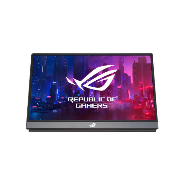 Asus XG17AHPE 17.3 inch IPS FHD 1,000:1 3ms HDMI/USB LED LCD Monitor, w/ Speakers. In-Plane Switching (IPS) Panel. USB Type-C | Micro HDMI Inputs. 1920 x 1080 Full HD Resolution. 1000:1 Static Contrast Ratio