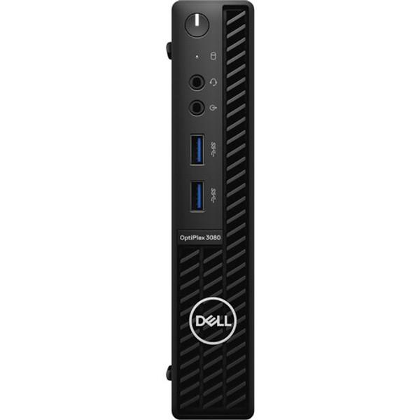 Dell OptiPlex 3000 3080 RHDRD Desktop (2.30 GHz Intel Core-i5-10500T 10th Gen Hexa-core (6 Core), 8 GB DDR4 SDRAM, 256 GB SSD, Windows 10 Pro)
