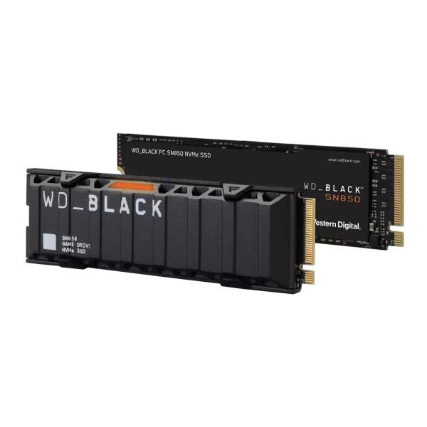 WD Black SN850 WDS200T1X0E 2 TB M.2 2280 Internal PCI Express NVMe (PCI Express 4.0 x4) Solid State Drive