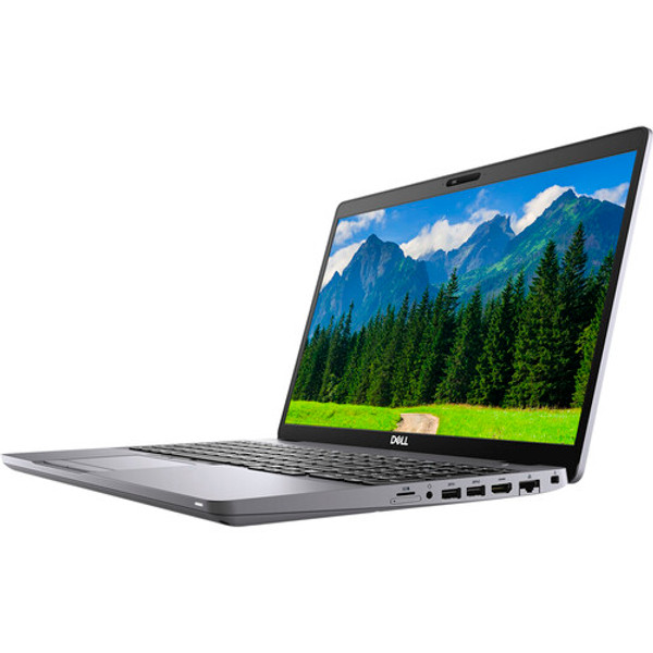 """Dell Latitude 5510 8FHHX 15.6"""" Laptop (1.60 GHz Intel Core-i5-10210U (10th Gen) Quad-core (4 Core), 8 GB DDR4 SDRAM, 256 GB SSD, Windows 10 Pro). Our most secure and manageable commercial laptops, delivering reliable productivity for your end-users."""