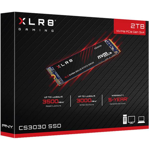PNY XLR8 CS3030 2 TB M.2 2280 Internal PCI Express Solid State Drive