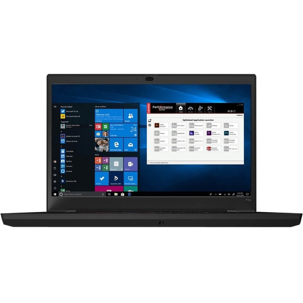"""Lenovo ThinkPad P15v Gen 1 20TQ001WUS 15.6"""" Mobile Workstation Laptop (2.60 GHz Intel Core-i7-10750H (10th Gen) Hexa-core (6 Core), 32 GB DDR4 SDRAM, 1 TB SSD, Windows 10 Pro). Fusing the portability of ThinkPad with the power of a workstation, P Series laptops feature ISV-certified applications, lightning-fast graphics & processing, and more cutting-edge technology to handle your compute-intensive needs - in a surprisingly thin, light package."""