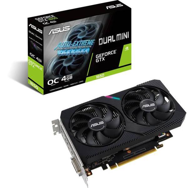 Asus NVIDIA GeForce GTX 1650 4 GB GDDR6 DUAL-GTX1650-O4GD6-MINI-CSM Graphic Card