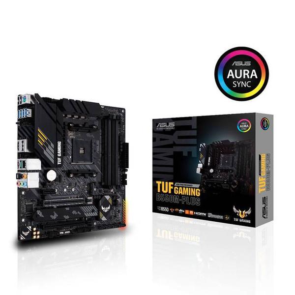Asus TUF GAMING B550M-PLUS Desktop Motherboard - AMD Chipset - Socket AM4 - Micro ATX