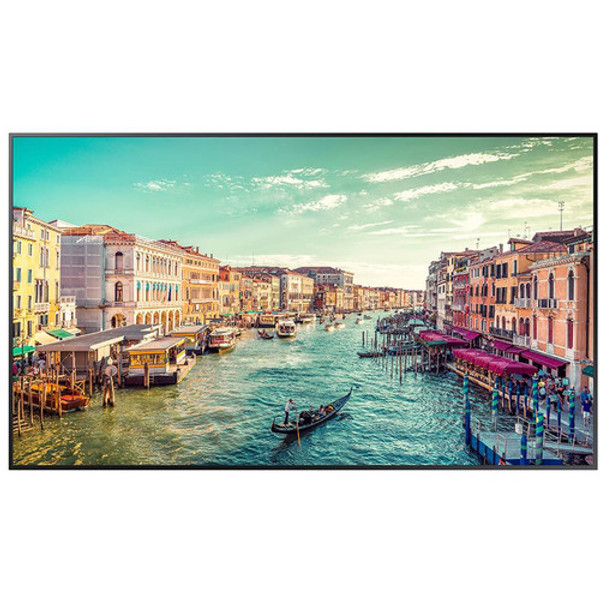 Samsung QM65R Digital Signage Displaym Samsung's new QMR series displays cut through the clutter to deliver best-in-class UHD resolution as well as intelligent UHD upscaling and rich flawless colors with Dynamic Crystal Color all in a slim design.