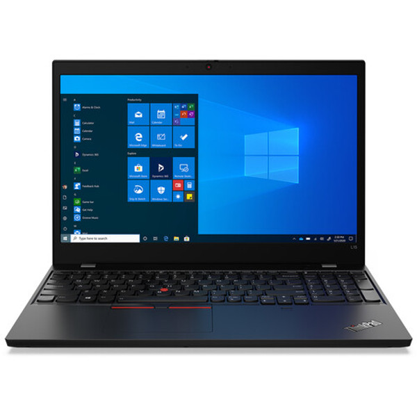 "Lenovo ThinkPad L15 Gen1 20U7000TUS 15.6"" Touchscreen Laptop (2.10 GHz AMD Ryzen-5-4650U Hexa-core (6 Core), 16 GB DDR4 SDRAM, 512 GB SSD, Windows 10 Pro)"