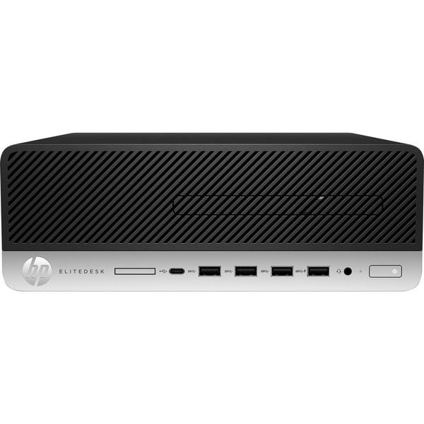 HP EliteDesk 705 G5 8LJ47UT#ABA Desktop (3.70 GHz AMD Ryzen 5-PRO-3400G, 8 GB DDR4 SDRAM, 256 GB SSD, Windows 10 Pro)