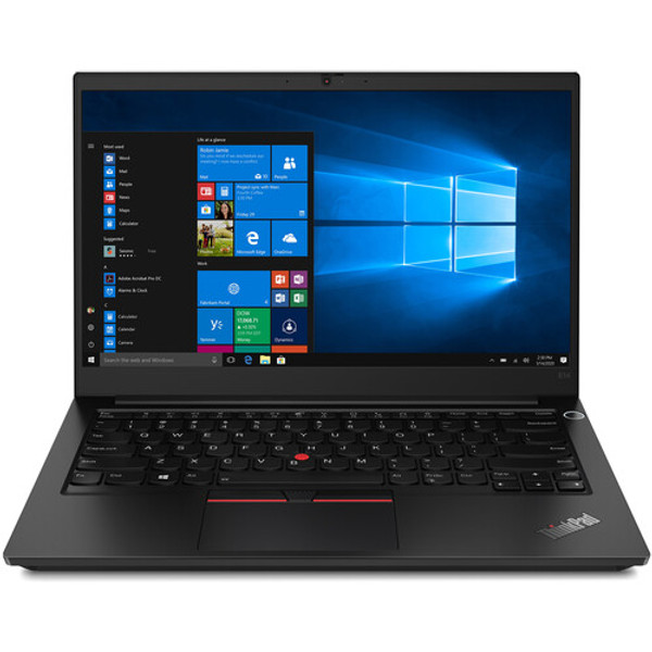 """Lenovo ThinkPad E14 Gen 2-ARE 20T6002QUS 14"""" Laptop (2 GHz AMD Ryzen-7-4700U Octa-core (8 Core), 8 GB DDR4 SDRAM, 256 GB SSD, Windows 10 Pro) - Give your small business a unique style with the compelling facade and features of these business laptops. They're built for security and productivity, with a look that makes business personal again."""