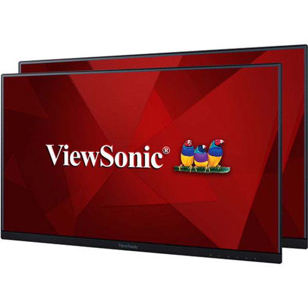 """Viewsonic VA2456-MHD_H2 23.8"""" Full HD LED LCD Monitor - 16:9 - Black (2-Pack without Stand)"""